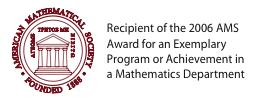 AMS Award